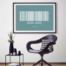 Barcode Personalised Prints